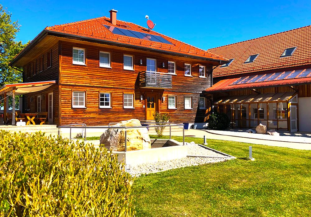 Wohnhaus und Innenhof