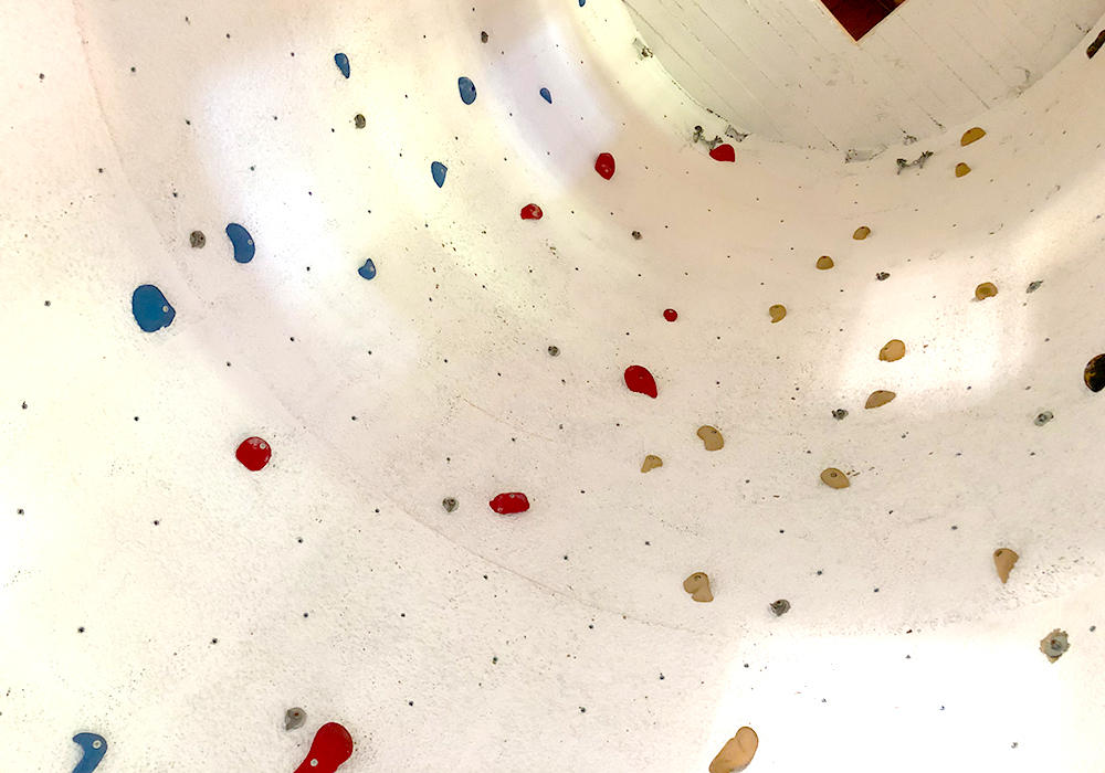 Klettern im Klettersilo