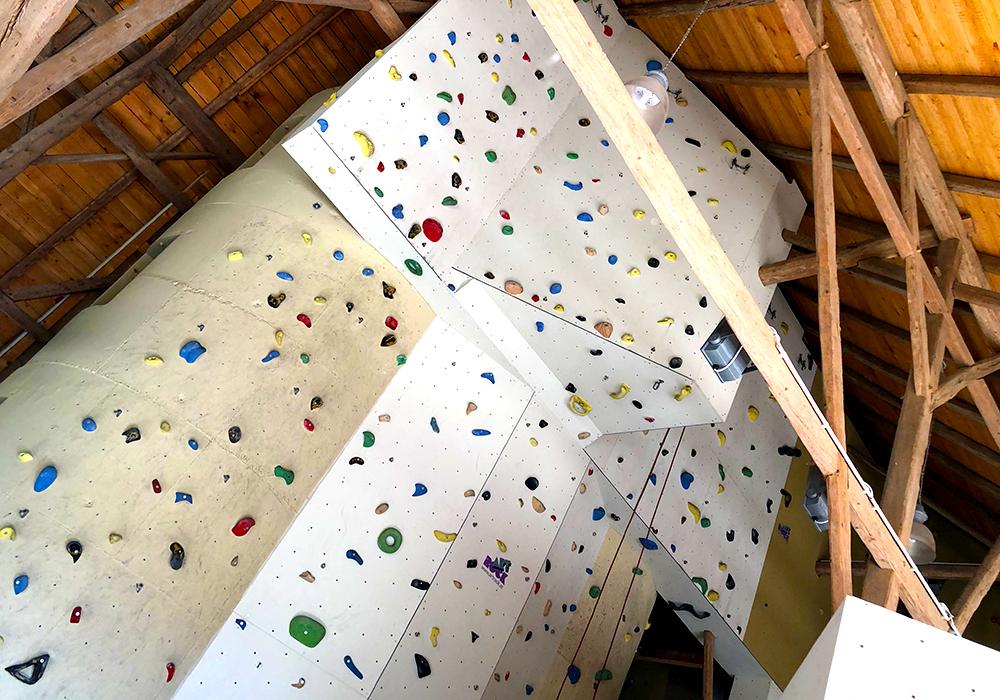 Klettern im Kletterstadl