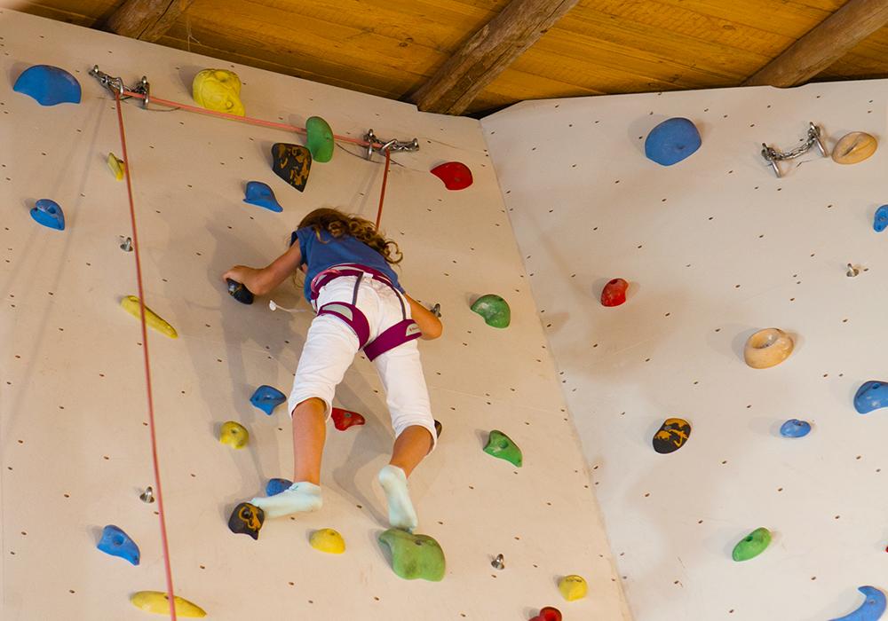 Der Kletterstadl mit vielen Möglichkeiten